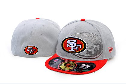 San Francisco 49ers Screening 59FIFTY Fitted Hat 60d214